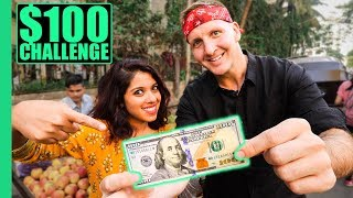 Download INDIAN Street Food $100 CHALLENGE in MUMBAI! Best Street Food in Mumbai! Video