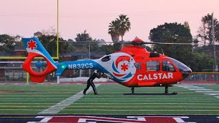 Download Cliff Rescue - CalStar 2 Air Ambulance Helicopter Landing & Takeoff! Video