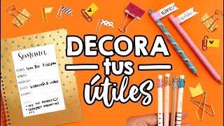 Download DECORA tus ÚTILES ESCOLARES!! ✄ Barbs Arenas Art! Video