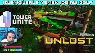 Download UNLOST GECE İZLEYİCİLERLE YEMEK İDDİALI GOLF OYUNU TOWER UNİTE (07.12.2017) Video