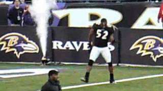Download Ray Lewis pre-game Dance Video