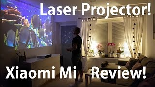 Download Xiaomi Mi Laser projector review! Full Test! Video