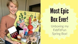Download The Most Epic Box Ever! |Unboxing My FabFitFun Spring Box! Video