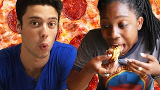 Download People Try Pizza From Around The World Video