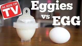 Download EGGIES vs. EGG | As Seen on TV Test | Does it Work? Video