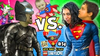 Download BATMAN vs. SUPERMAN! Lets Build & Play LEGO Dimensions #14: w/ Superbaby, Lord Business & Joker Bot Video