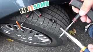 Download DIY How to Fix a Flat Tire EASY! Video