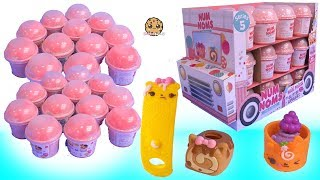 Download Scented Lip Gloss + Nail Polish Series 5 Surprise Num Noms Blind Bags Video
