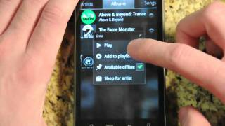 Download Google Music on Android Demo Video