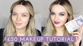 Download The £20 Drugstore Makeup Tutorial // MyPaleSkin Video