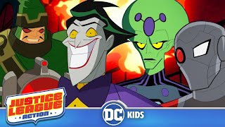 Download Justice League Action | Your Daily Dose Of Villainy | DC Kids Video