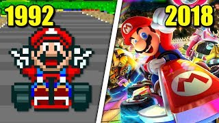 Download Evolution of Mario Kart Games (1992 - 2018) Video
