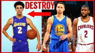 Download Why Steph Curry and Kyrie Irving want to DESTROY LONZO BALL!! Lavar Ball CROSSED THE LINE!! Video
