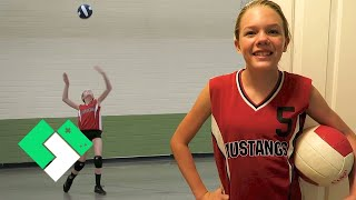 Download 🏐 First School Volleyball Game of the Season! (Day 1990) Video