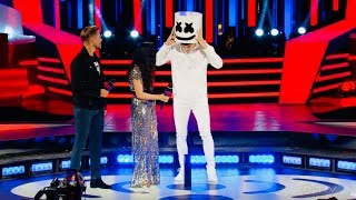 Download Marshmello SHOCKS MMVAs crowd by REVEALING he is.....Shawn Mendes?! Video