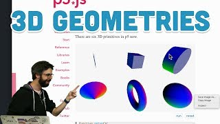 Download 18.2: 3D Geometries - WebGL and p5.js Tutorial Video