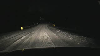 Download Tracking the storm: Reporters take you on the morning drive Video