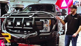 Download Road Armor Bumpers American Valor 2017 Ford F-350 Superduty Build | SEMA 2017 Video