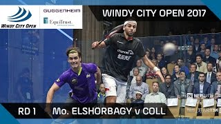 Download Squash: Mo. ElShorbagy v Coll - Windy City Open 2017 Rd 1 Highlights Video