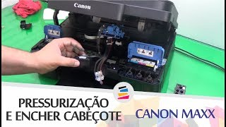 How to fix G2000 G3000 blinking 7 times the ink absorber