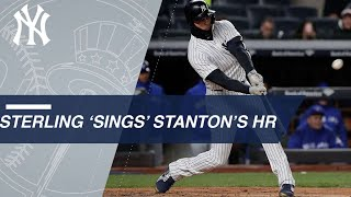 Download Sterling's showtunes-esque call of Stanton's HR Video