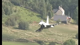 Download Fast Jets And More Low Flying In The Mountains Of Wales - Airshow World Video
