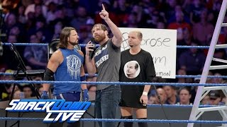 Download The Ambrose Asylum welcomes James Ellsworth: SmackDown LIVE, Nov. 29, 2016 Video