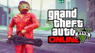 Download GTA 5 ONLINE - HOW TO GET THE ANGRY GINGERBREAD MAN CHRISTMAS MASK! (GTA 5 Glitches & Tricks) Video