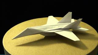 Download Advanced Origami F-18 Hornet by: Ken Hmoob Video