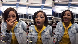 Download Vassiah Gets In Trouble In the Library 😂| Instagram Live Video
