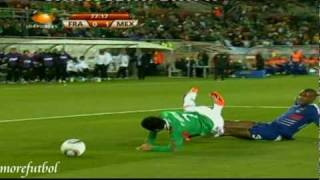 Download Francia 0 - 2 Mexico Primera Ronda Copa Del Mundo Fifa Sudafrica 2010 17/06/2010 Video