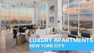 Download Inside a New York City $15 Million Dollar Penthouse - Come Inside! Video