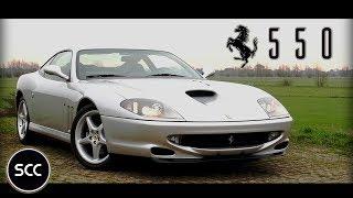 Download FERRARI 550 MARANELLO - 1998 - Test drive in top gear | SCC TV Video