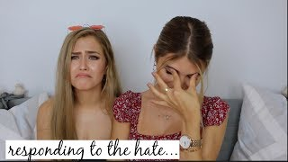 Download RESPONDING TO OUR HATE COMMENTS ft. Mel Joy l Olivia Jade Video