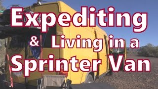Download Working as an Expediter In a Sprinter Van Video