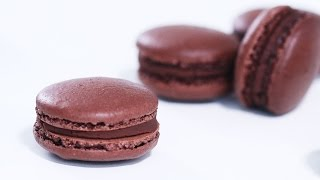 Download French Chocolate Macarons Recipe Video