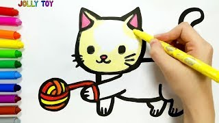Download Drawing and Coloring for kids, toddlers I How to Draw #JollyToyArt Video