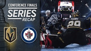 Download Expansion Golden Knights topple Jets to reach Stanley Cup Final Video