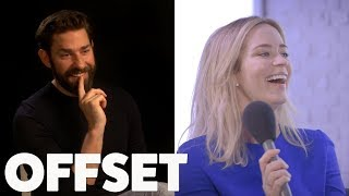 Download The one question Emily Blunt's always wanted to ask John Krasinski Video