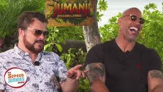 Download Jack Black Impersonates The Rock (Jumanji Cast Interview) Video