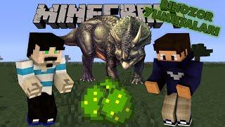 Download DİNOZOR YUMURTALARI - Jurassic Craft (Modsuz) - Bölüm 2 (Özel Haritalar) w/AzizGaming Video