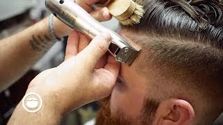 Download Undercut with Sharp Edges & Beard Trim Video