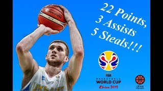 Download Svi Mykhailiuk Full Highlights 14.09.2018 Ukraine vs Spain- 22 Pts, 3 Asts! | UF44 Highlights Video