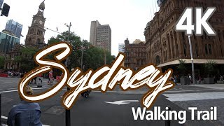 Download 【4K SYDNEY AUSTRALIA】 Walking Trail Sydney's Fashion Centre George St, Heart of Sydney CBD(1) Video