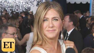 Download Jennifer Aniston on Brad Pitt Run-Ins at Awards Shows | SAG Awards 2020 Video