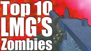 Download TOP 10 LMG's IN CALL OF DUTY ZOMBIES! Video