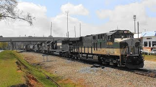 Download NS 322 with ″Southern″ heritage leader in Stockbridge, Ga. Video