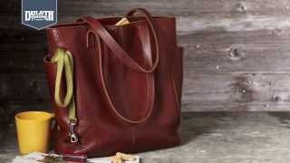 Download Duluth Trading Women's Lifetime Leather Tote Video