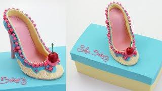 Download Shoe Bakery Cake - CAKE STYLE - Amazing Cake Decorating Video