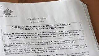Download Il Mercatino di San Nicolino a Sampierdarena Video